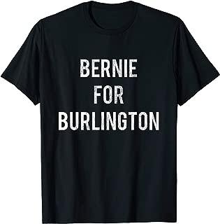 Bernie Sanders for Burlington Mayor Retro Campaign T-Shirt