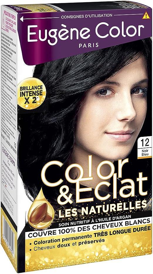 Eugenio Color – N ° 34 Castaño Avellana – Tinte permanente – Lote de 2