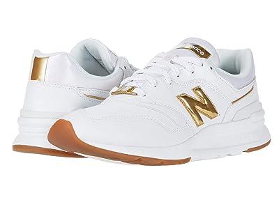 New Balance Classics 997H (White/Gold) Women