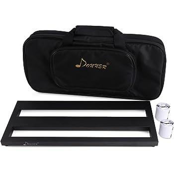 Donner-Pedalera de efecto Ligero y Portable para Guitarra con Cinta de Gancho y Bucle DB-2: Amazon.es: Instrumentos musicales