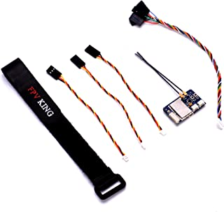 FPVKing Flysky FS-X6B Receiver 6 CH 2.4G i-Bus PPM PWM Receiver for AFHDS i10 i6s i6 i6x i4x Transmitter with 250mm Lipo Battery Strap