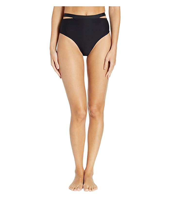 Vitamin A Swimwear Coco Bottoms (Black BioRib) Women