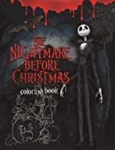 The Nightmare Before Christmas Coloring Book: Coloring Book With Exclusive Images Inspired by Tim Burton Greatest Work PDF