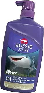 G'Day Grape 3 n 1 Shampoo + Conditioner + Body Wash 29.2 Fl Oz