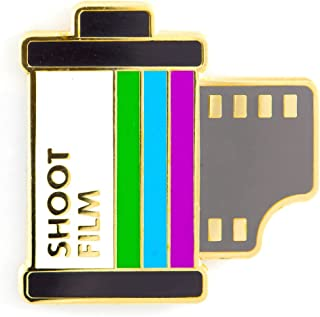 These Are Things Shoot Film Enamel Pin