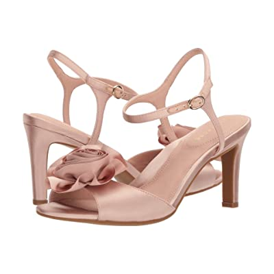 Taryn Rose Jacklyn (Blush Satin) High Heels