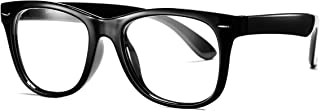 Kids Clear Glasses for Little Girls Boys, Geek Fake Nerd Eyeglasses for Costume (Age 4-12)