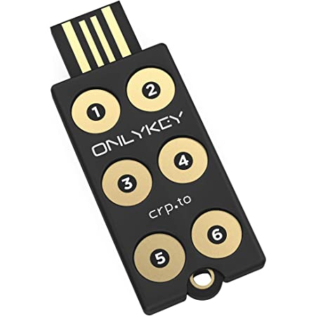 OnlyKey FIDO2 / U2F Security Key and Hardware Password Manager   Universal Two Factor Authentication   Portable Professional Grade Encryption   PGP/SSH/Yubikey OTP   Windows/Linux/Mac OS/Android