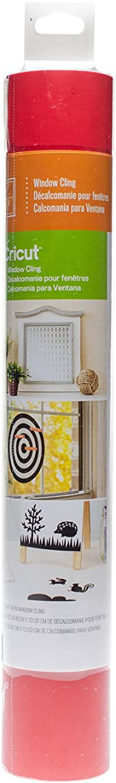 Cricut Decorative Window Cling, Red