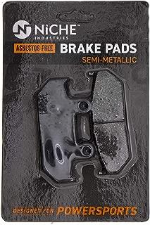 NICHE Brake Pad Set For Honda Goldwing 1500 06455-MT8-405 45106-MT8-305 Front Semi-Metallic