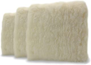 """Adam's Professional 10"""" Car Wash Pad - Made of Professional Grade Plush Synthetic Wool - Safely Wash Your Vehicle Without ..."""