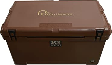 K2 Coolers Summit 90 Ducks Logo Unlimited Edition Cooler, Mud Brown