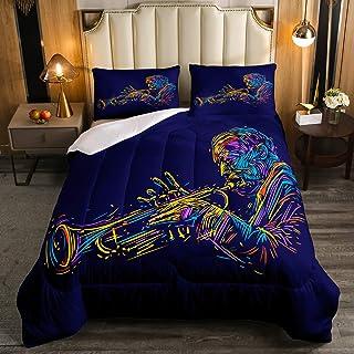 Erosebridal Music Trumpet Comforter Set Colored