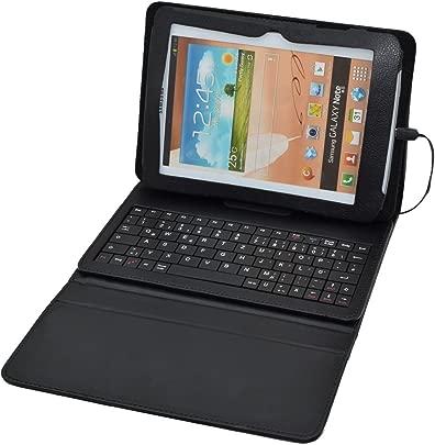 Universal Tablet-H lle Schutztasche f r das MEDION  LIFETAB  S7851  MD 98675  mit QWERTZ-Tastatur und Standfunktion Schutzh lle H lle