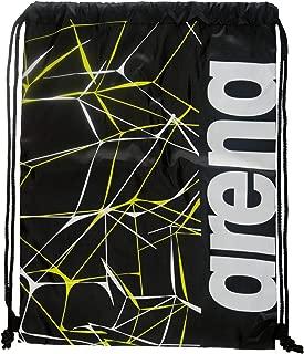 Arena Fast Drawstring Water Print Swimbag,  Black