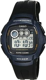 Casio Youth Digital Grey Dial Men's Watch - W-210-1BVDF (I064)