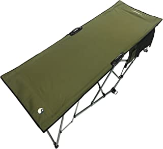 WolfTraders 20000 Patented Deluxe Folding Turbocot, Olive Green