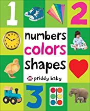 First 100 Padded: Numbers Colors Shapes