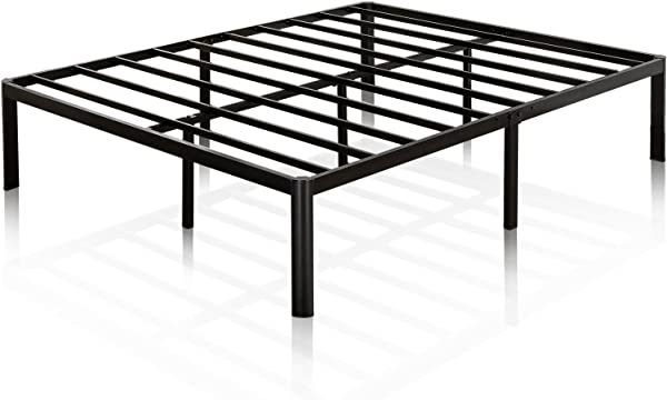 Zinus Van 16 Inch Metal Platform Bed Frame With Steel Slat Support Mattress Foundation King