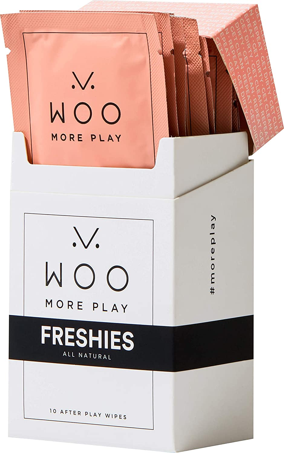 Woo 2021 autumn and winter new More Play: Freshies - 10ct 55% OFF Refres Towelettes All-Natural