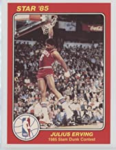 Julius Erving (Basketball Card) 1984-85 Star Slam Dunk Contest - [Base] #3