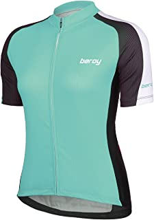 Beory Womens Cycling Jerseys with Short Sleeves,Girls...