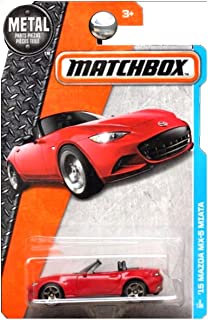 Matchbox 2016 MBX Adventure City Series '15 Mazda MX-5 Miata 1:64 Scale Collectible Die Cast Metal Toy Car Model 3/125