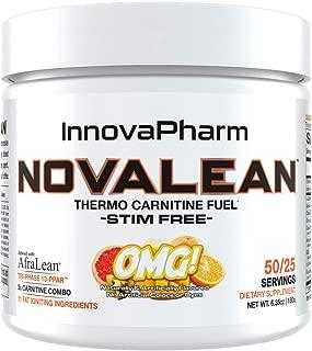 NOVALEAN - Thermo Carnitine Fuel - Stim Free - 6.35oz - OMG Flavor
