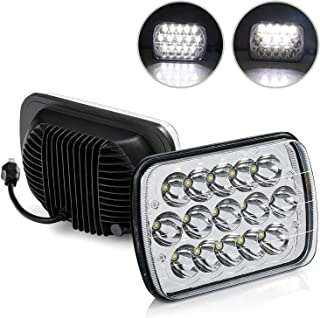 BAOLICY 5x7 LED Headlights Dot Approved Rectangular 7x6In H6054 Headlight High Low Sealed Beam Square Headlamp H49003Plu...