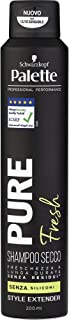 Schwarzkopf, Palette Styling Shampoo Secco Pure Fresh, Senza Siliconi, 200 ml