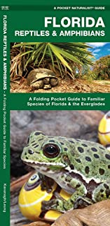 Florida Reptiles & Amphibians: A Folding Pocket Guide to Familiar Species of Florida & the Everglades (Wildlife and Nature Identification)