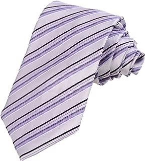 Striped Tie Mens Necktie Travel Daily Ties + Gift Box