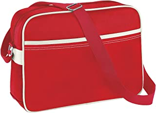 BagBase Original Airline Messenger Bag (12 Litres) (Pack of 2)