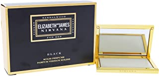 Elizabeth and James Nirvana Black Solid Perfume for Women, 0.14 Ounce
