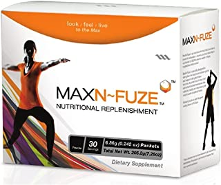 Max N-Fuze, Nutritional Replenishment, 30 Packets (0.24 Ounce), 30 Servings