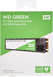 Western Digital WD Verde Internal SSD M.2 SATA, Verde, 120 GB