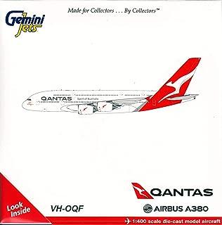 GeminiJets GJQFA1783 Qantas A380-800 New Livery VH-OQF' / GEMGJ1783 1:400 Gemini Jets Qantas Airbus A380-800 (New Livery) Reg #VH-OQF (pre-Painted/pre-Built)