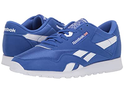 Reebok Lifestyle Classic Nylon Color (Crushed Cobalt/White) Men
