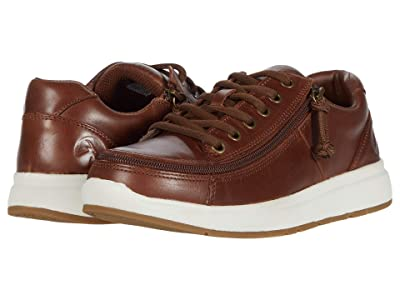 BILLY Footwear Comfort Leather Lo (Brown/White) Men