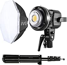GVM Softbox Lighting Kit Professional Studio Photography Continuous Equipment with 80W 5600K for Portrait Product Fashion ...