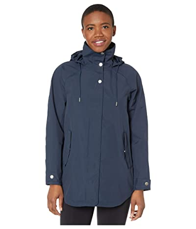 Helly Hansen Valentia Raincoat (Navy) Women