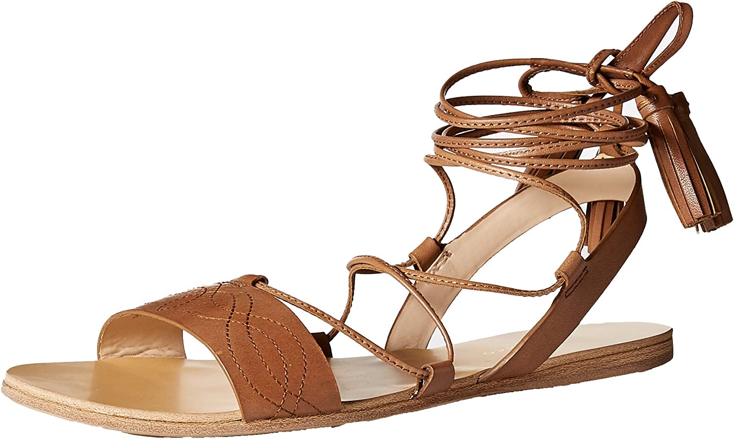 G.H. Bass & Co. Womens Savannah Flat Sandal