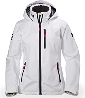 Helly Hansen Women's Crew Hooded Waterproof Windproof Breathable Rain Coat Jacket