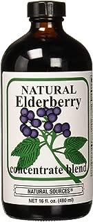 Natural Sources Elderberry Concentrate, 16 Fluid Ounce