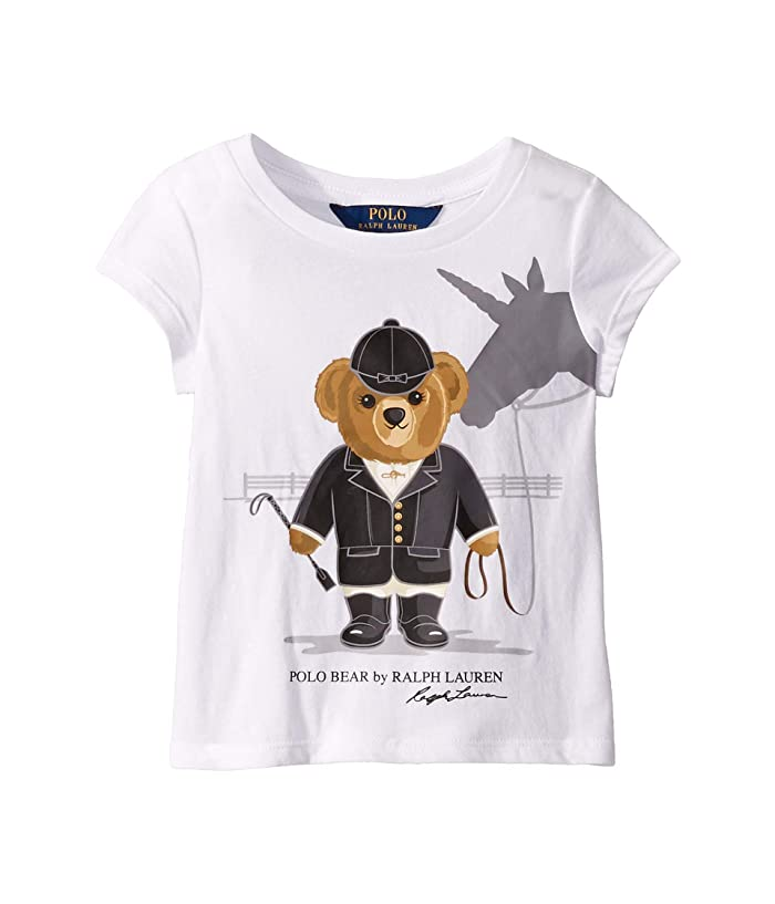 0b12f403 Polo Ralph Lauren Kids Unicorn Bear Cotton Jersey Tee ...