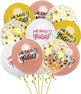 she said yaaas balloons