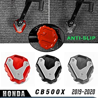 Black Baoblaze Kickstand Side Stand Foot Support Plate Enlarge Pad for Motorcycle Dirt Bike