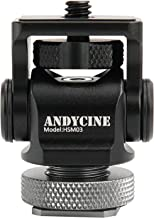 ANDYCINE Field Monitor Mount Vlogger Field Monitor Holder Tilt 176 Degree Swivel 360 Degree with Screw Fixture Camera EDC Tools Box for 5 /7inch Monitor(Version 1.3)