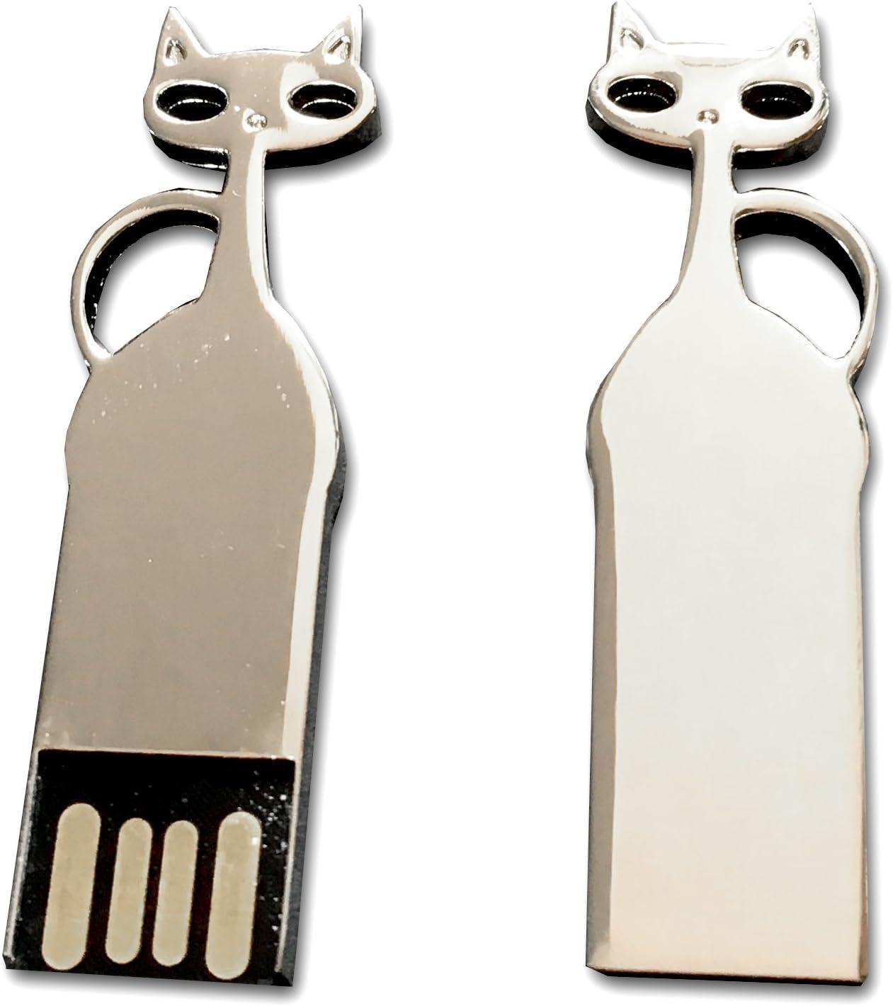 Tomax Katze Silber Aus Metall Als Usb Stick Elektronik