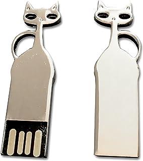 Tomax Katze Metall silber als USB Stick in 8/16/32oder 64GB USB Memory Stick